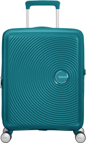 American Tourister Soundbox Expandable Spinner 55cm Jade Green Main Image