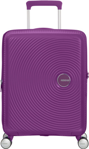 American Tourister Soundbox Expandable Spinner 55cm Purple Orchid Main Image
