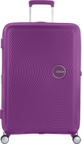 American Tourister Soundbox Expandable Spinner 77cm Purple Orchid Main Image