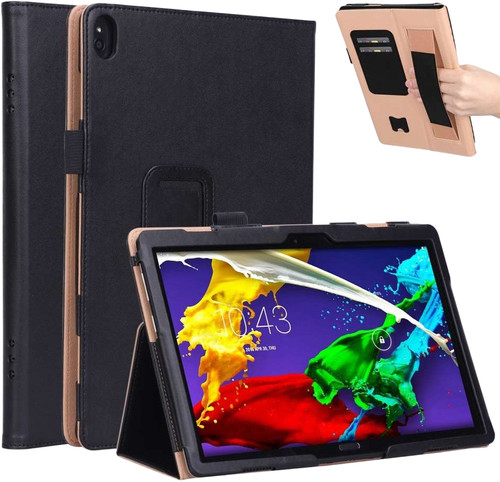 Just in Case Lenovo Tab P10 Case Zwart Main Image