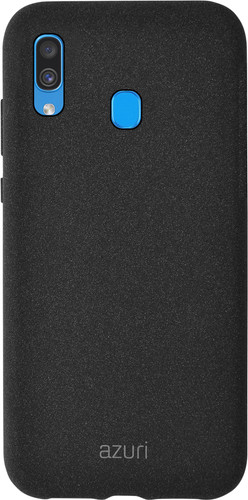 Azuri Flexible Sand Samsung Galaxy A40 Back Cover Zwart Main Image