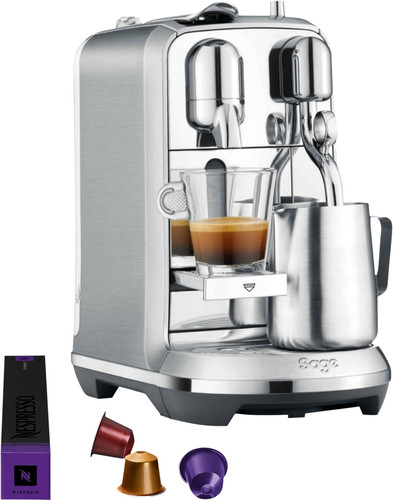Sage Nespresso Creatista Plus SNE800BSS Stainless Steel Main Image