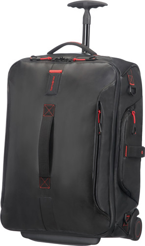 Samsonite Paradiver Light Duffle Wheels Backpack 51L Black Main Image