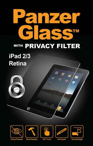 PanzerGlass Privacy Apple iPad 2/3/4 Screenprotector Glas Main Image