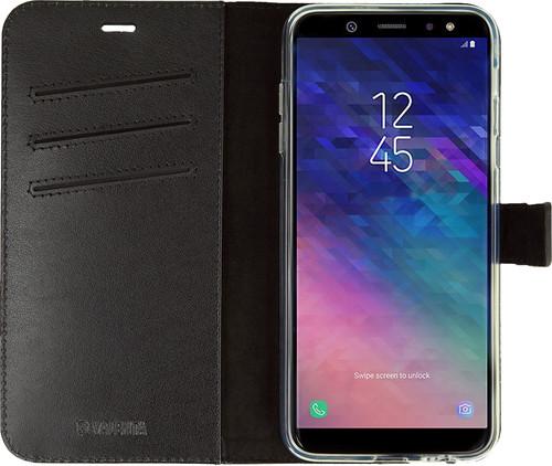 Valenta Booklet Gel Skin Samsung Galaxy A6 (2018) Book Case Black Main Image