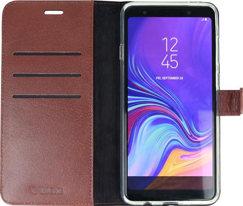 Valenta Booklet Gel Skin Samsung Galaxy A9 (2018) Book Case Bruin Main Image