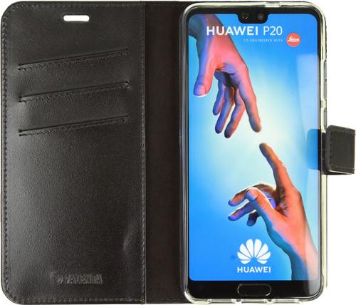 Valenta Booklet Gel Skin Huawei P20 Book Case Black Main Image