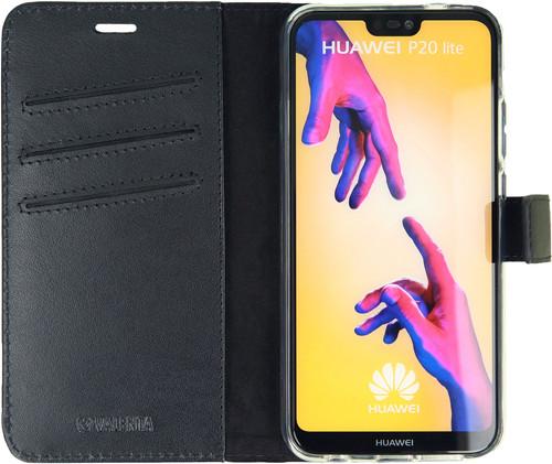 Valenta Booklet Gel Skin Huawei P20 Lite Book Case Zwart Main Image