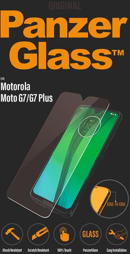 PanzerGlass Motorola Moto G7 (Plus) Screen protector Glass Main Image