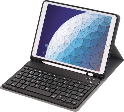 Just in Case Premium Apple iPad Air (2019) Bluetooth Toetsenbord Hoes Zwart QWERTY Main Image