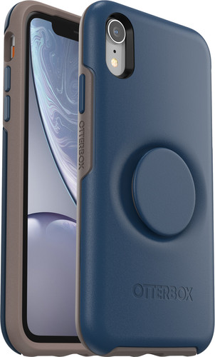 Otterbox Symmetry Pop Apple iPhone Xr Back Cover Blue Main Image