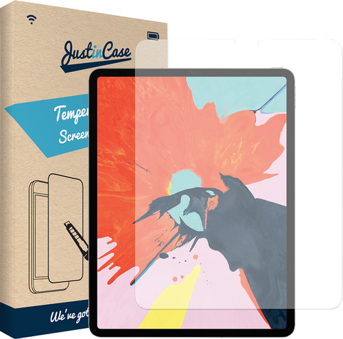 Just in Case Tempered Glass Apple iPad Pro 12.9 (2018/2020) Screenprotector Main Image