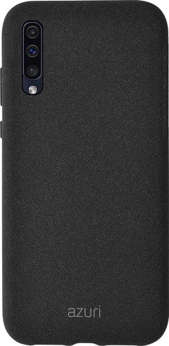 Azuri Flexible Sand Samsung Galaxy A50 / A30s Back Cover Black Main Image