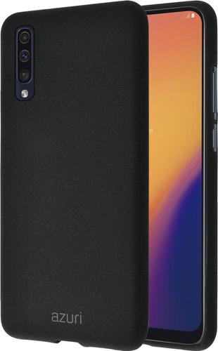 Azuri Flexible Sand Samsung Galaxy A70 Back Cover Zwart Main Image
