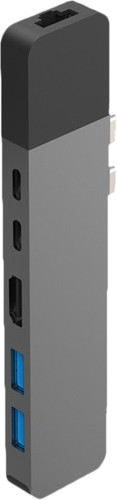 Hyper USB-C to HDMI, Ethernet and USB Docking Station Space Gray Main Image