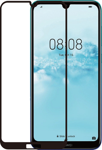 Azuri Rinox Tempered Glass Huawei Y6 (2019) Screen protector Glass Black Main Image