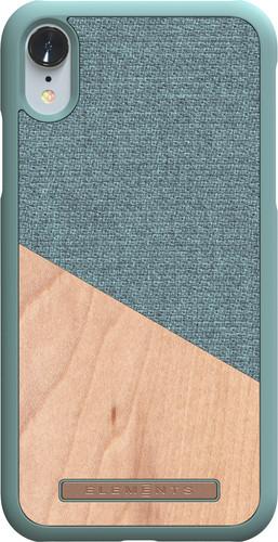 Nordic Elements Frejr Apple iPhone Xr Back Cover Groen/Hout Main Image