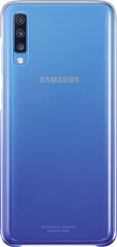 Samsung Galaxy A70 Gradation Back Cover Paars/Transparant Main Image