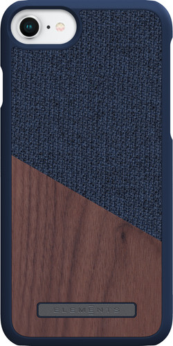 Nordic Elements Frejr Apple iPhone 6 / 6s / 7/8 Back Cover Blue / Wood Main Image