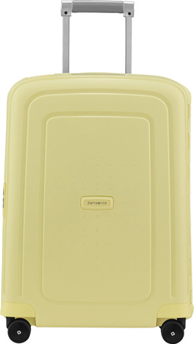 Samsonite S'Cure Spinner 55cm Pastel Yellow Stripes Main Image