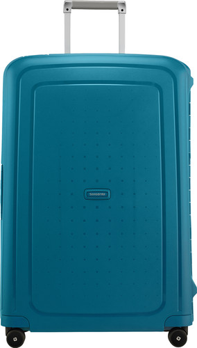 Samsonite S'Cure Spinner 75cm Petrol Blue Stripes Main Image