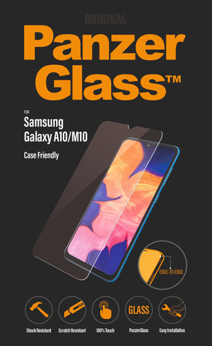 PanzerGlass Case Friendly Samsung Galaxy A10 Screen Protector Glass Main Image
