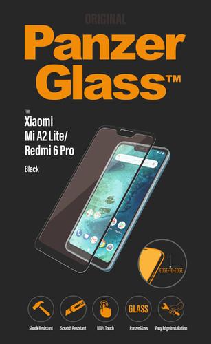 PanzerGlass Xiaomi Mi A2 Lite (Redmi 6 Pro) Screen Protector Glass Black Main Image