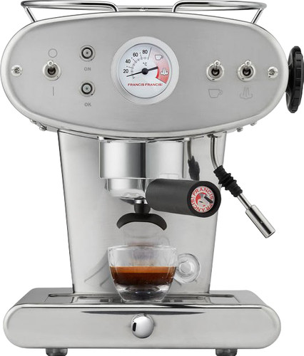 Illy X1 Ground Zilver Main Image