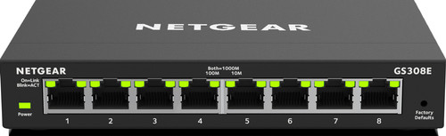 Netgear GS308E-100PES Main Image
