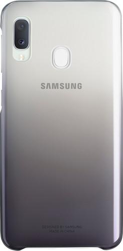 Samsung Galaxy A20e Gradation Back Cover Zwart Main Image
