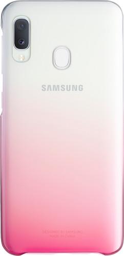 Samsung Galaxy A20e Gradation Back Cover Roze Main Image
