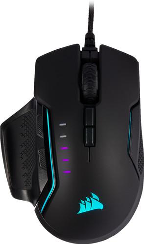 Corsair Glaive Gaming RGB Pro Muis Zwart Main Image