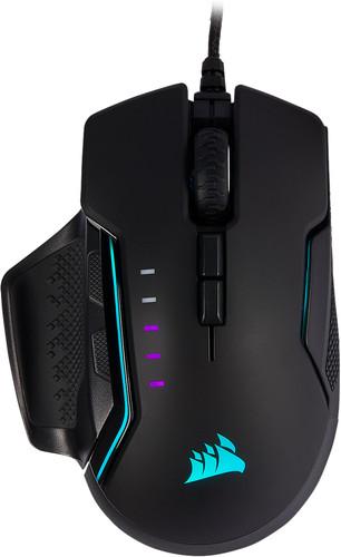 Corsair Glaive Gaming RGB Pro Mouse Aluminum Main Image
