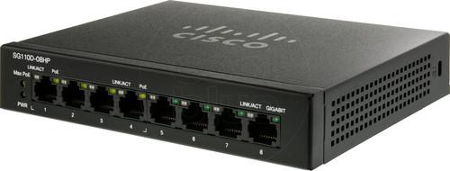Cisco SG110D-08HP Main Image
