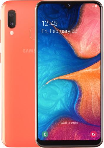 Samsung Galaxy A20e Oranje Main Image