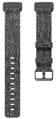 Fitbit Charge 3 Kunststof Nylon Grijs S Main Image