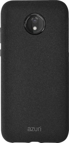 Azuri Flexible Sand Motorola Moto G7 Power Back Cover Zwart Main Image