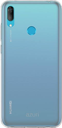 Azuri Glossy TPU Huawei Y6 (2019) Back Cover Transparent Main Image