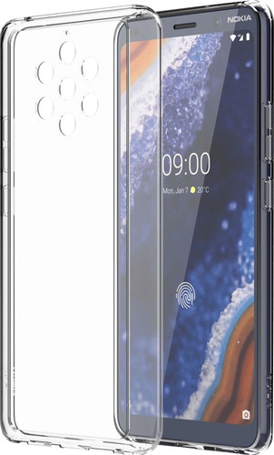 Nokia 9 PureView Slim Crystal Back Cover Transparant Main Image