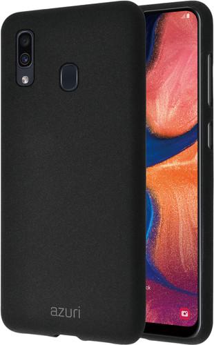 Azuri Flexible Sand Samsung Galaxy A20e Back Cover Zwart Main Image