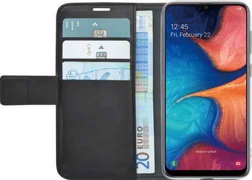 Azuri Wallet Magneet Samsung Galaxy A20e Book Case Zwart Main Image