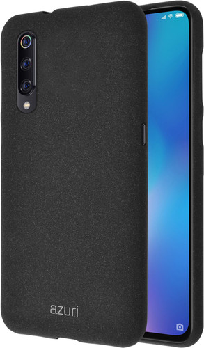 Azuri Flexible Sand Xiaomi Mi 9 Back Cover Zwart Main Image