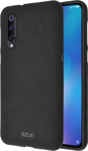 Azuri Flexible Sand Xiaomi Mi 9 Back Cover Black Main Image