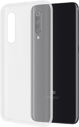 Azuri Glossy TPU Xiaomi Mi 9 Back Cover Transparent Main Image