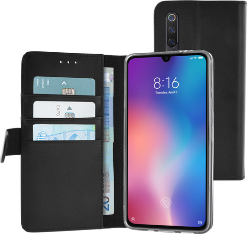 Azuri Wallet Magneet Xiaomi Mi 9 Book Case Zwart Main Image