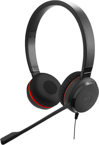 Jabra Evolve 20SE UC Stereo Wired Office Headset Main Image