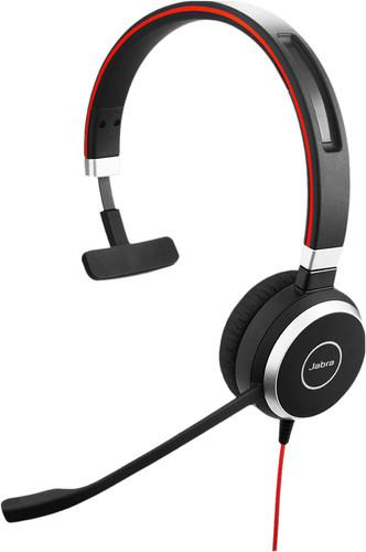 Jabra Evolve 40 UC Mono Wired Usb A Office Headset Main Image