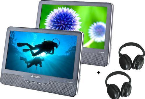 Autovision AV1900IR DUO Deluxe + 2x Autovision AV-IRS headphones Main Image