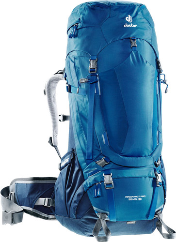 Deuter Aircontact Pro 55L + 15L Ocean/Midnight - Slim Fit Main Image