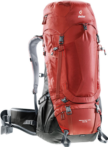 Deuter Aircontact Pro 60 + 15 Lava/Anthracite Main Image